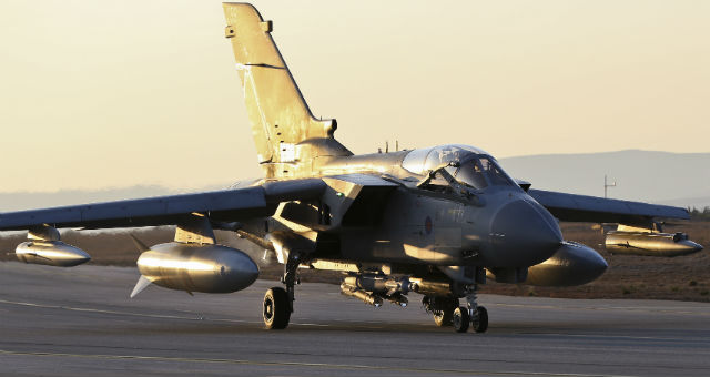 RAF Tornados Strike First IS Targets