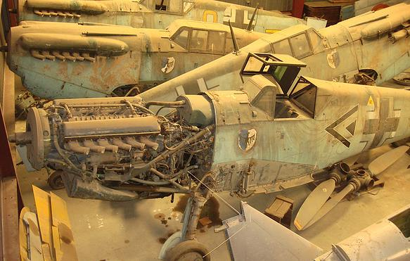 Six 'Battle of Britain' Aircraft Set for Restoration