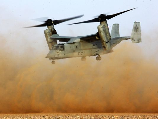 Marines to Add Firepower to Osprey
