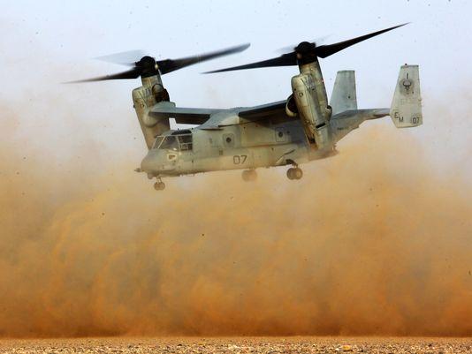 Marines to Add Firepower to Osprey