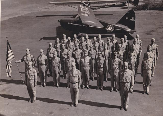 Honoring the 'Flying Minute Men'