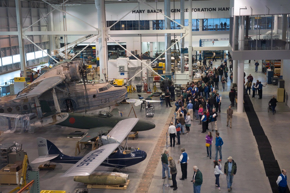 Udvar-Hazy Center Open House Saturday
