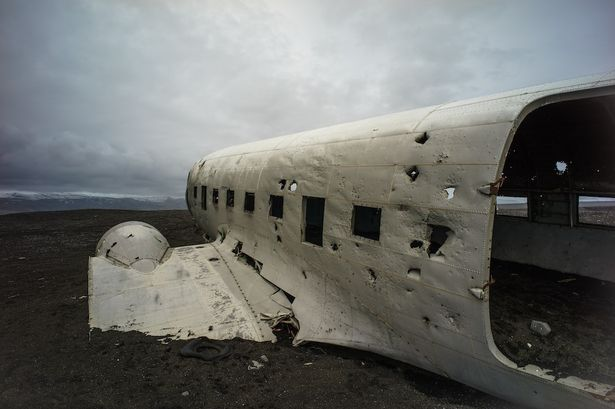 Forgotten DC-3 Caught on Camera