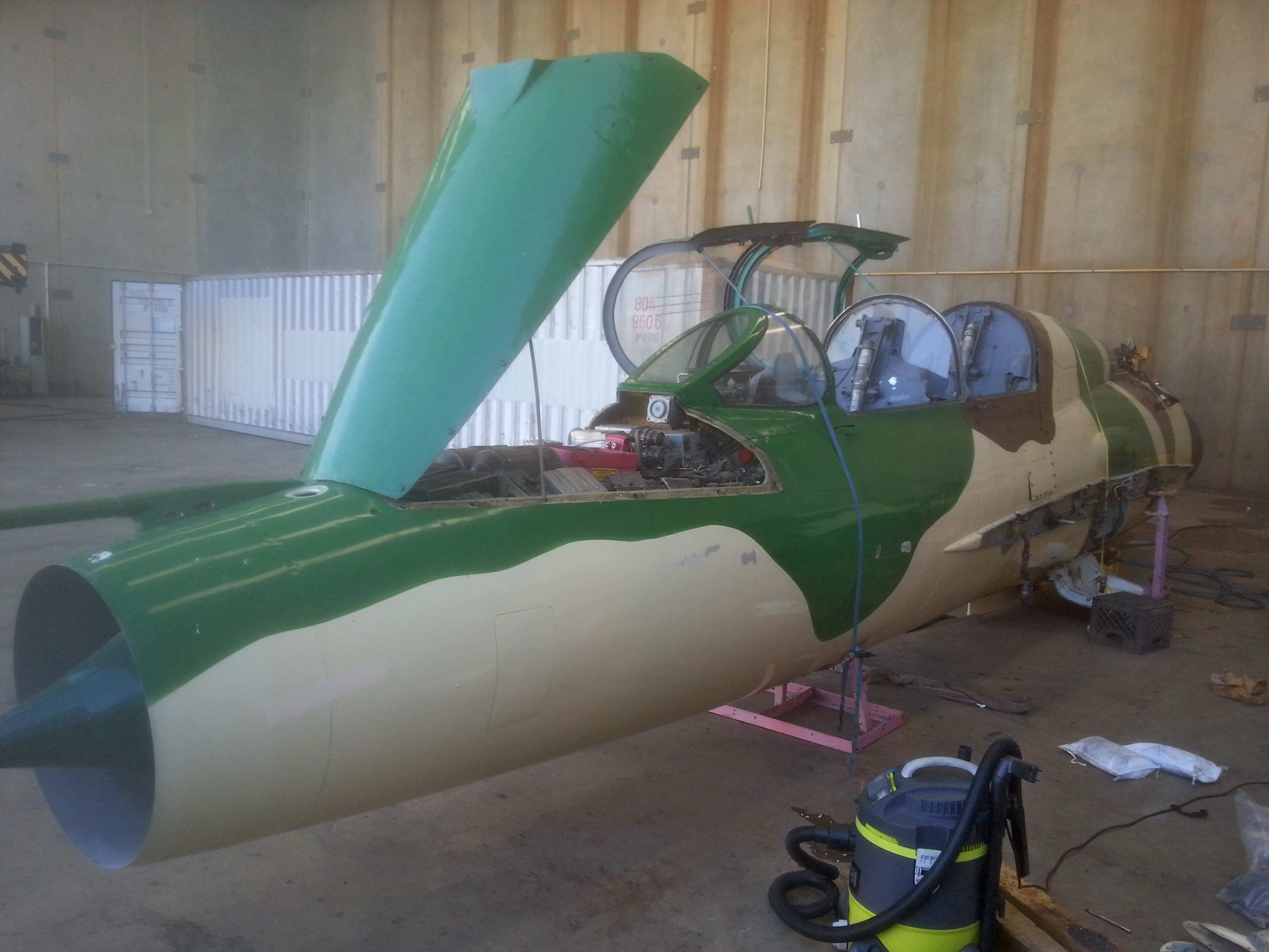 MiG-21 Flying Resto Begins in Australia