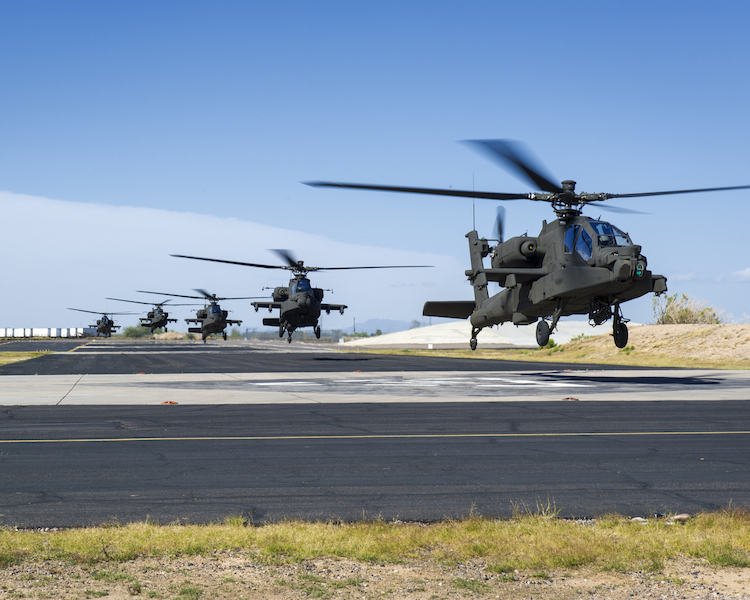 Army Combines Helos, Drones for Success