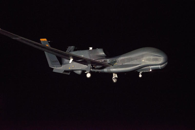 Global Hawk Makes Flight Down Under