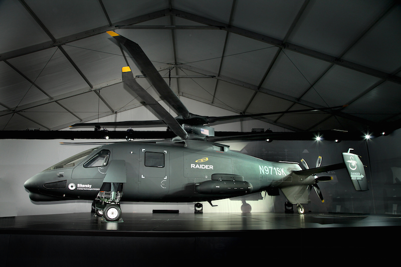 Sikorsky Readies Raider for First Flight