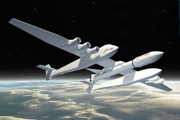 Stratolaunch Aircraft Nearly Half Done