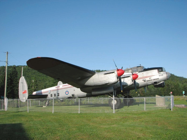 Lancaster Finds New Home in Alberta