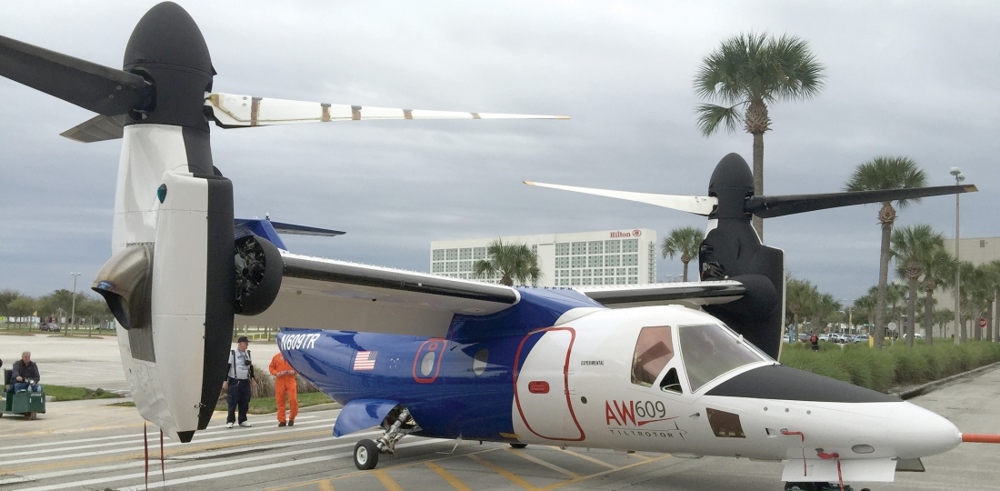 AW609 to be Built in U.S.