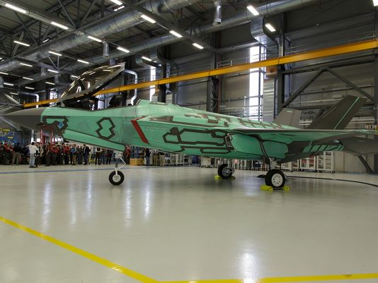 Italy Completes First Foreign-Built F-35