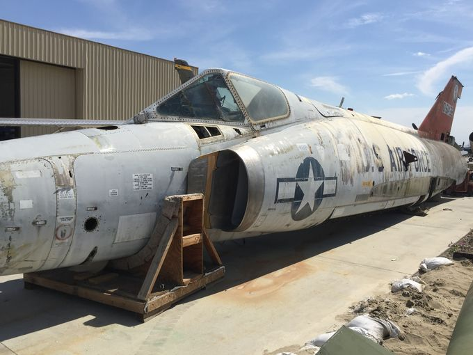 Palm Springs Museum Nabs F-102