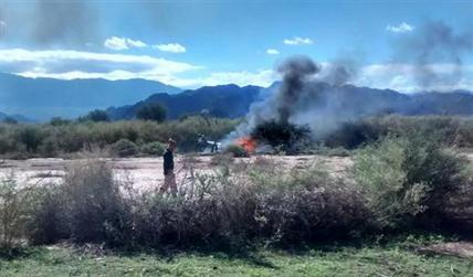 Argentine Chopper Crash Kills Ten