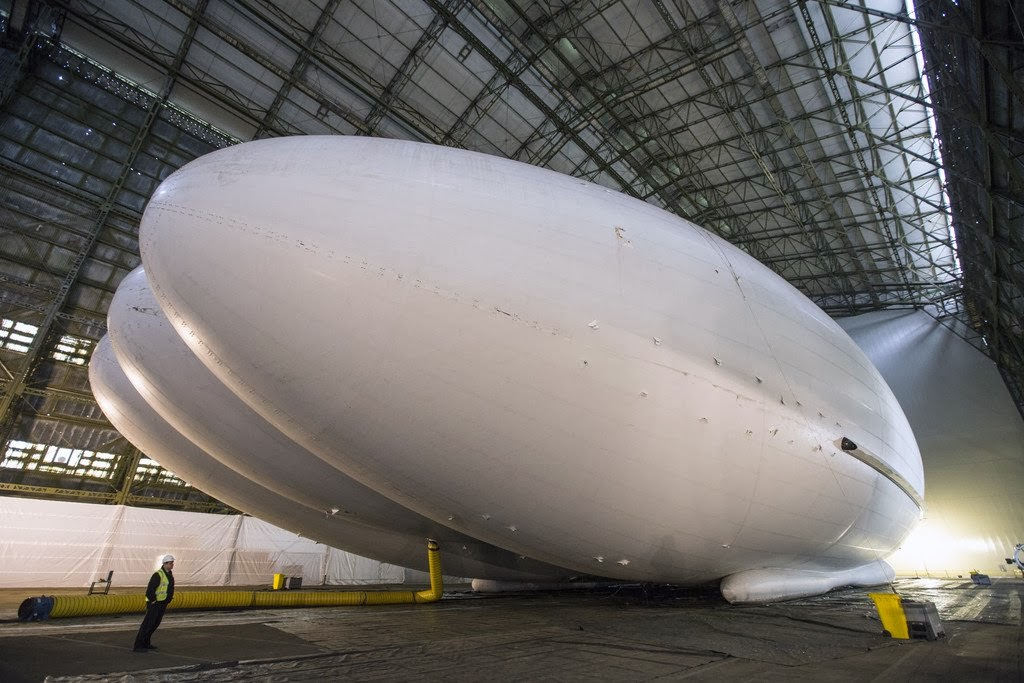Airlander 10 Set for First Flight