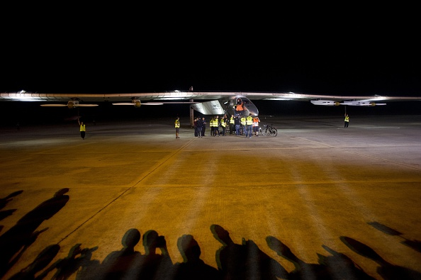 Solar Impulse 2 Lands in China
