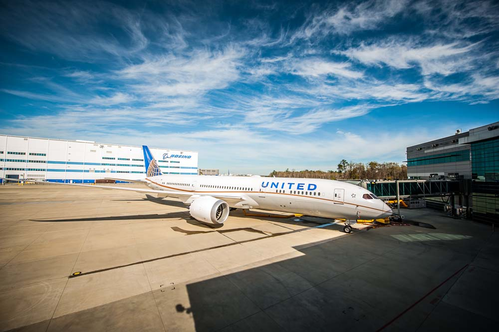 Boeing Rolls Out First S.C.-Built 787-9