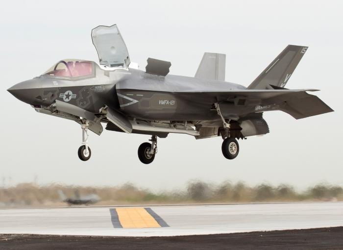 USMC Incorporates F-35B Into Plans