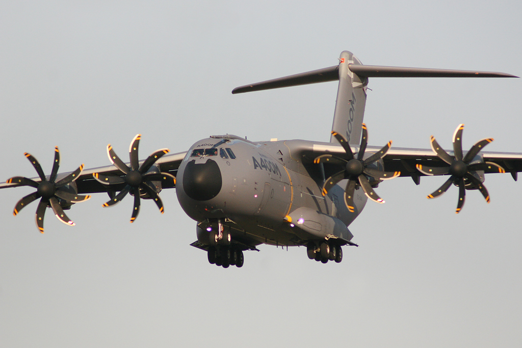 Turkish A400M Atlas Crashes in Spain