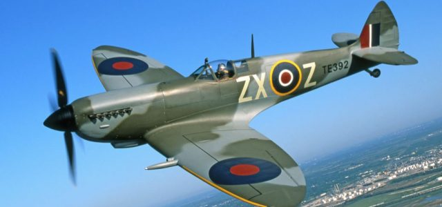 World War 2 Supermarine Spitfire – Free Wylam Drawing