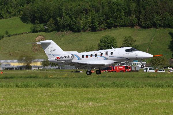 Pilatus Jet Makes First Flight