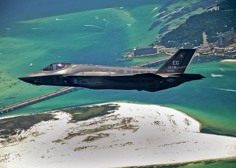 F-35 Set for 'Green Flag West' Exercise