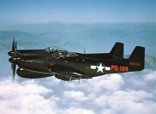 F-82B Twin Mustang – Free Wallpaper