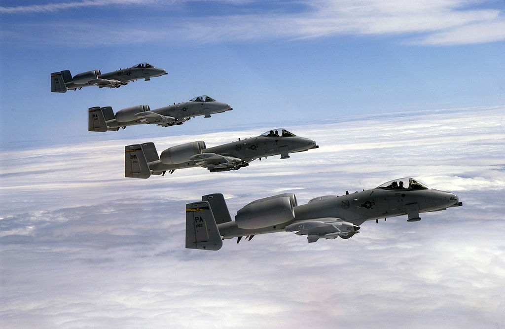A-10s Using Ex-Warsaw Pact Strips in Poland