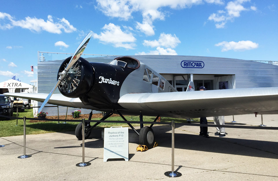 Rimowa to Build Junkers F13 Replicas