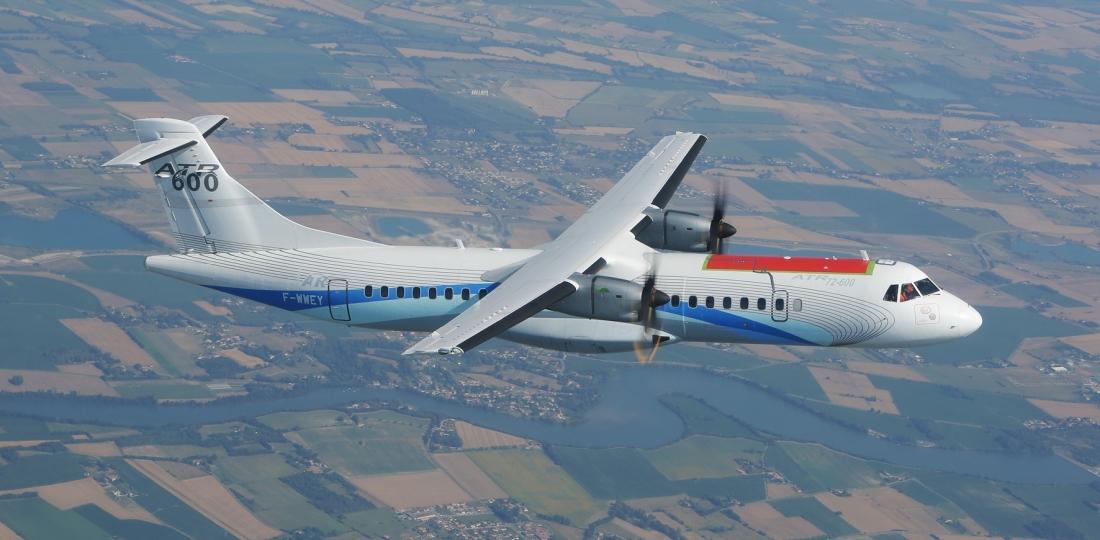 'Green' ATR Makes First Flight