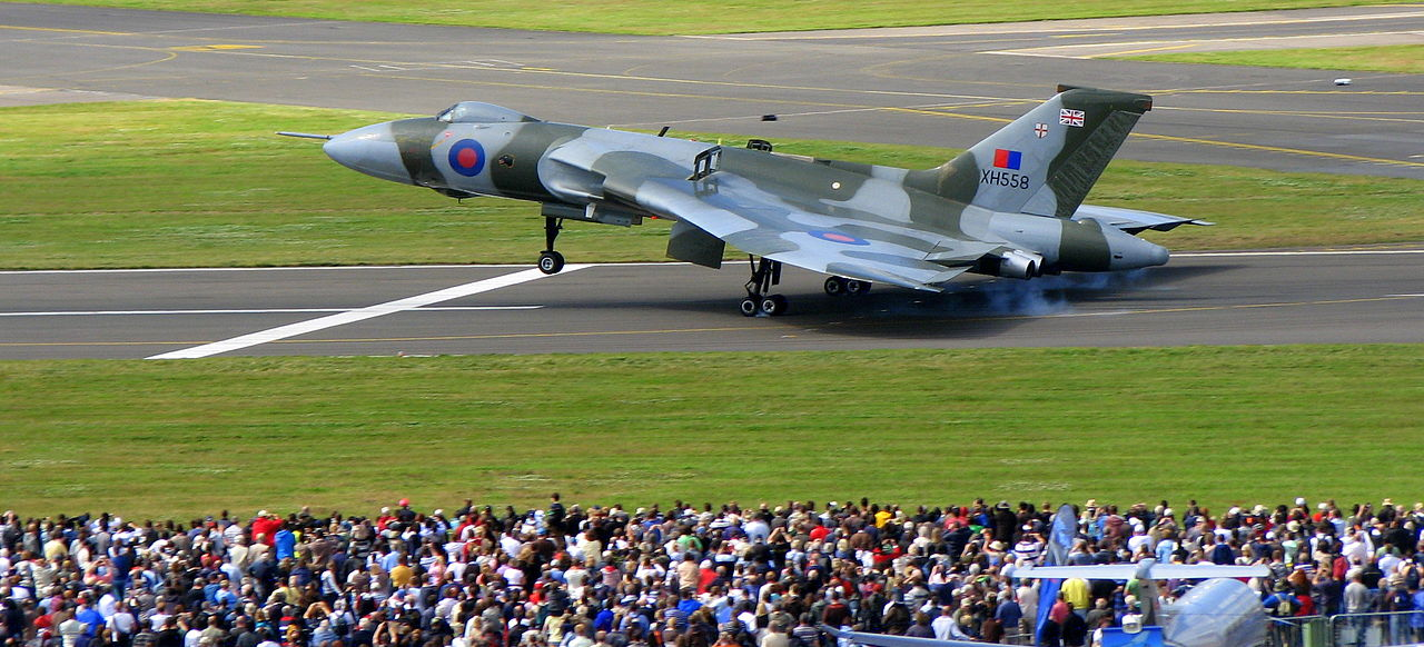 Flying Finale Nears for Vulcan XH558