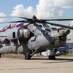 Russian Chopper Crashes During Air Show