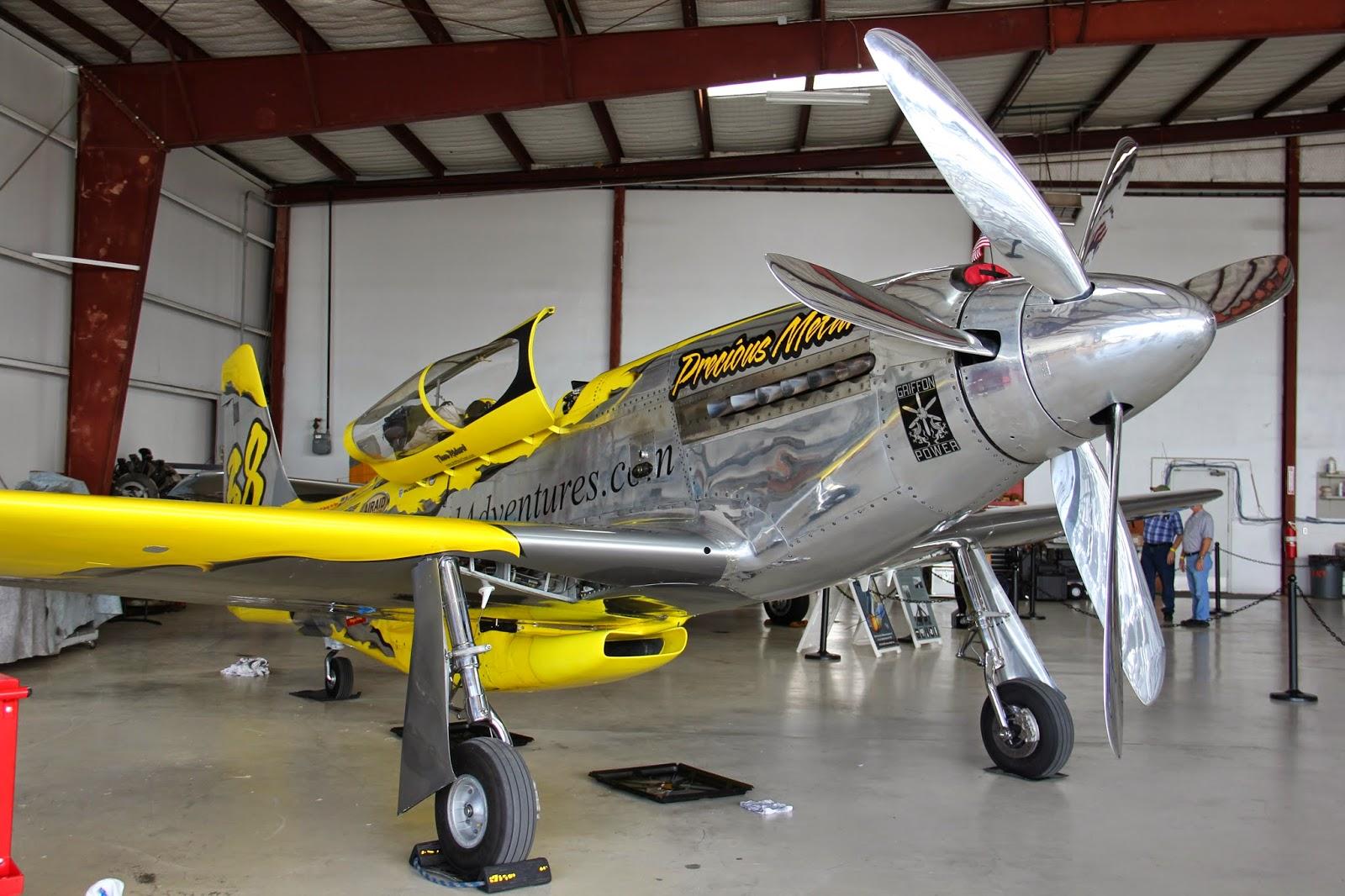 'Precious Metal' Air Racer Damaged
