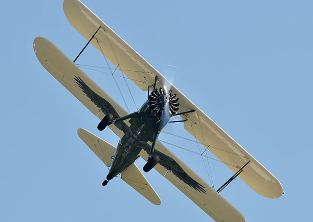 From England to Australia…in a Biplane