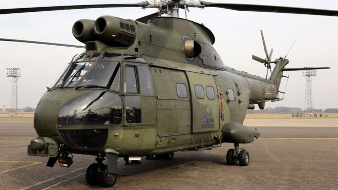 RAF Helicopter Crashes in Afghanistan
