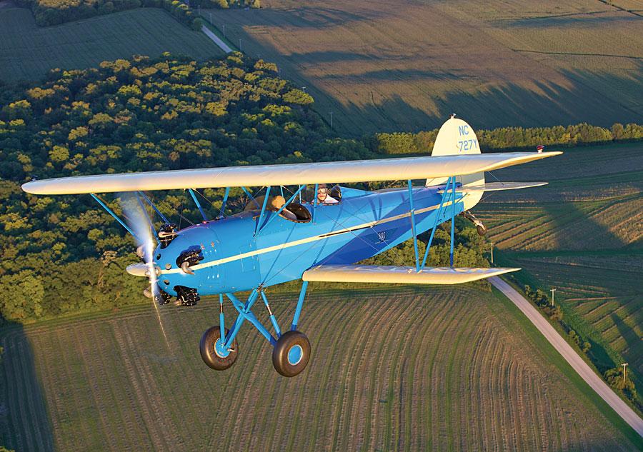 Bird Biplane – Lindbergh's pick for Anne