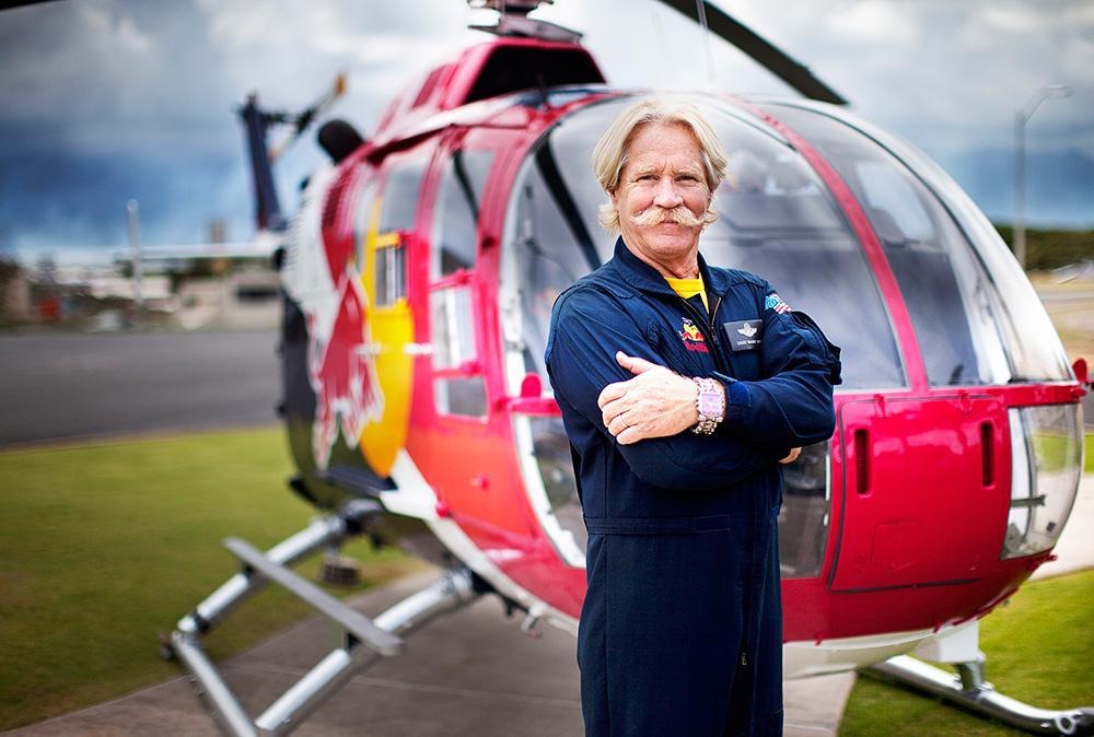 Red Bull Helo Pilot Retiring
