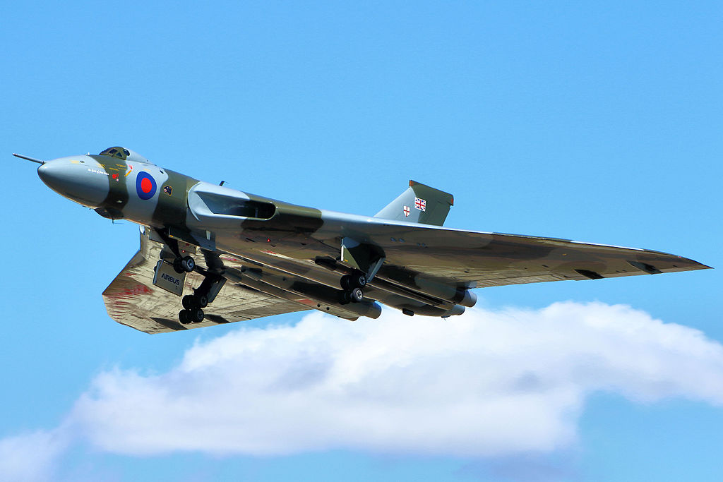 Last Vulcan's Flying Days Ending