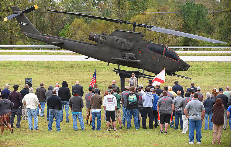 Students Restore Cobra for Veterans Day