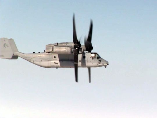 Marine Osprey Set Distance Record