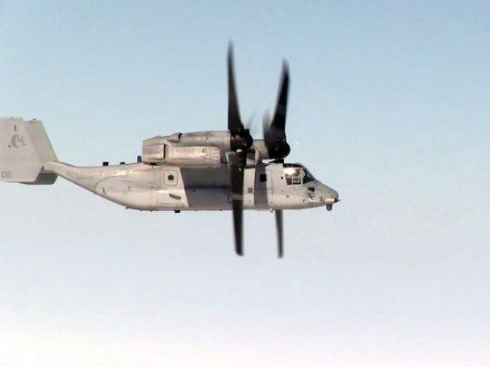 Marine Osprey Set Distance Record