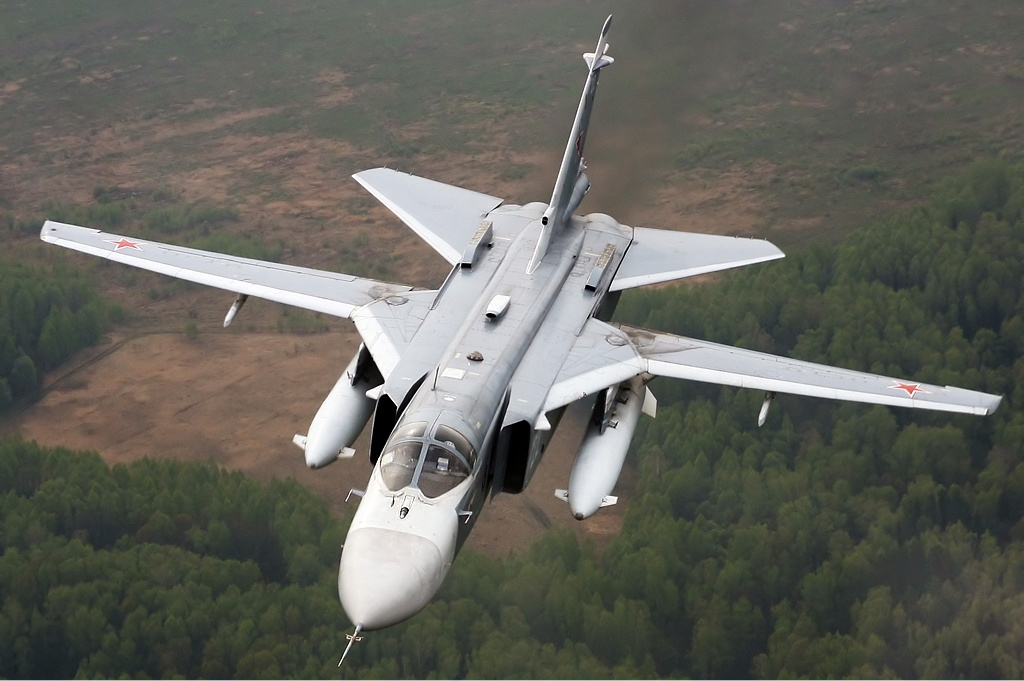Turkey Downs Russian Su-24 Fencer