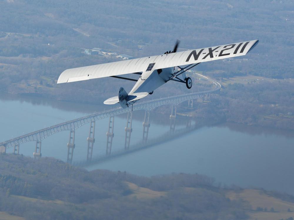 'Spirit' Replica Makes First Flight
