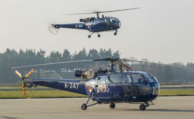 RNAF Retires Alouette IIIs