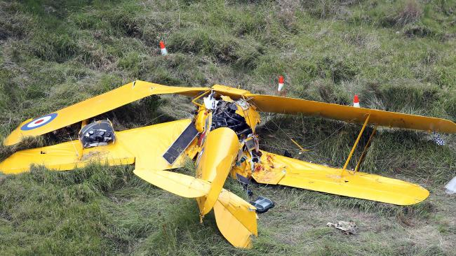 Tiger Moth Rides Threatened After Crash