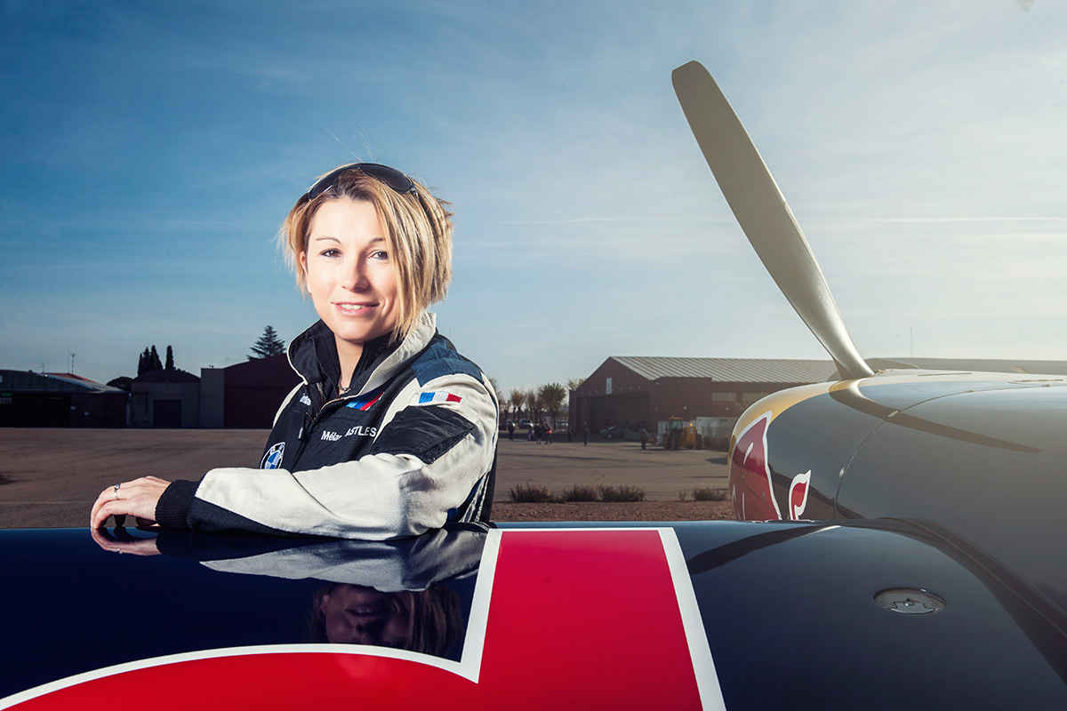 Female Pilot Joins Red Bull Air Race