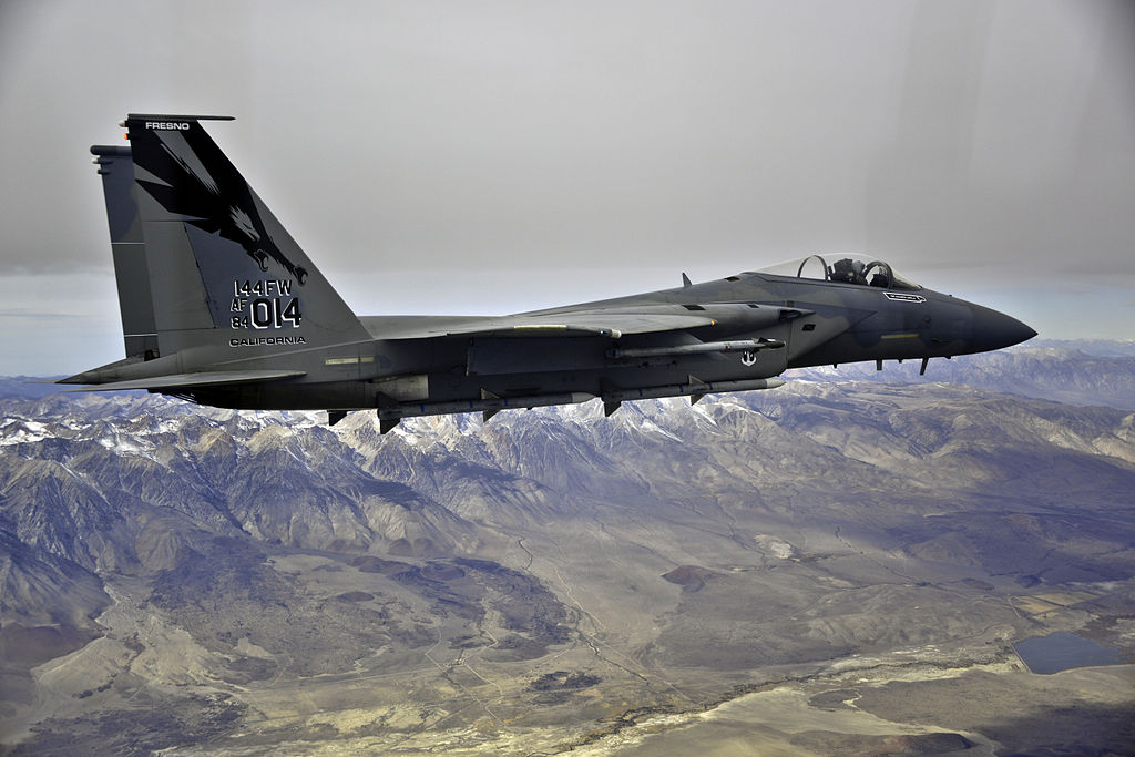 California ANG F-15s to Patrol SB50