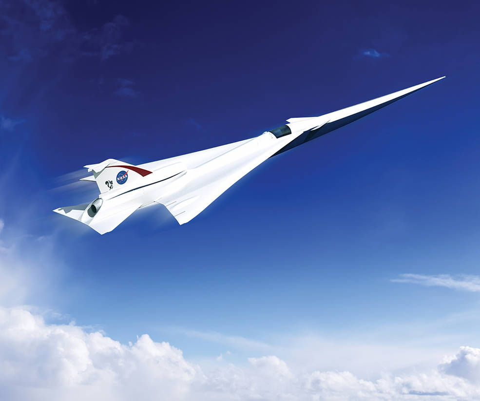 NASA Sets Sights on Supersonic Jet