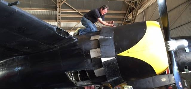 Texas-Based A-26 Readied for Show Season