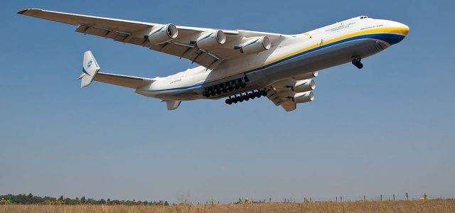 Rare Flight for Biggest Plane