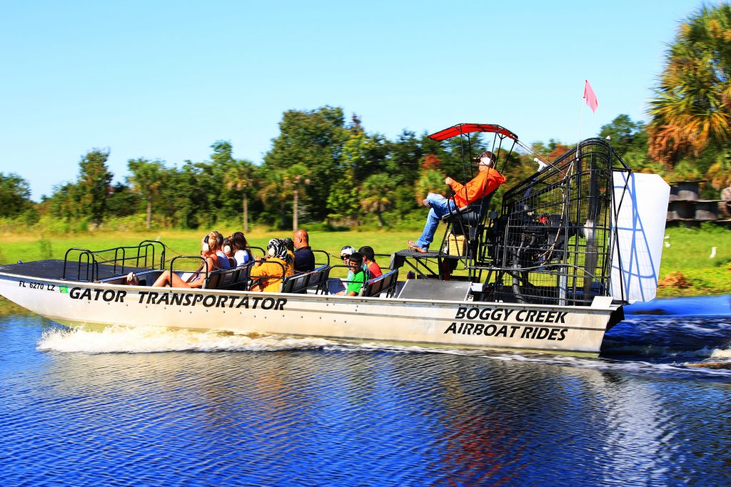 Boggy Creek Airpboat Rides